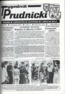 Tygodnik Prudnicki : Prudnik, Korfantów, Głogówek, Lubrza, Biała. R. 5, nr 33 (196) [197].