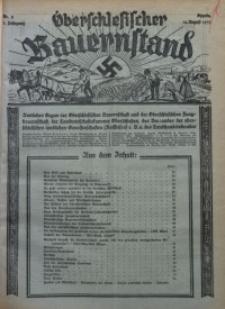 Oberschlesischer Bauernstand, 1933, Jg. 1, Nr. 2
