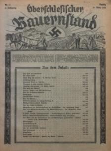 Oberschlesischer Bauernstand, 1934, Jg. 2, Nr. 13
