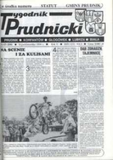 Tygodnik Prudnicki : Prudnik, Korfantów, Głogówek, Lubrza, Biała. R. 5, nr 41 (204) [205].