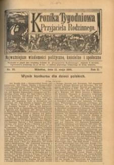 Kronika Tygodniowa do Przyjaciela Rodzinnego, 1896, R. 2, nr 20