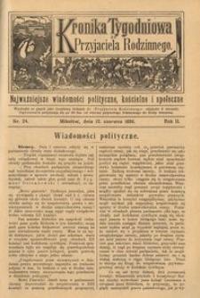 Kronika Tygodniowa do Przyjaciela Rodzinnego, 1896, R. 2, nr 24