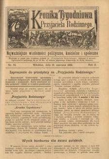Kronika Tygodniowa do Przyjaciela Rodzinnego, 1896, R. 2, nr 25
