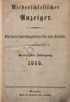 Niederschlesischer Anzeiger, 1948, Jg. 40, No. 1