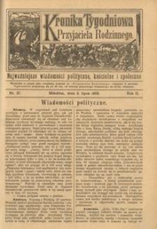 Kronika Tygodniowa do Przyjaciela Rodzinnego, 1896, R. 2, nr 27