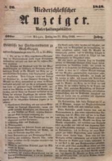Niederschlesischer Anzeiger, 1948, Jg. 40, No. 26