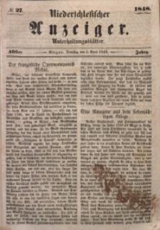 Niederschlesischer Anzeiger, 1948, Jg. 40, No. 27