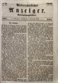 Niederschlesischer Anzeiger, 1948, Jg. 40, No. 71