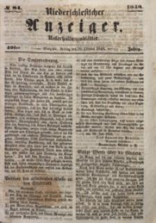 Niederschlesischer Anzeiger, 1948, Jg. 40, No. 84