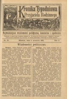 Kronika Tygodniowa do Przyjaciela Rodzinnego, 1896, R. 2, nr 36