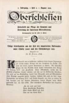 Oberschlesien, 1904, Jg. 3, H. 5