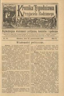 Kronika Tygodniowa do Przyjaciela Rodzinnego, 1896, R. 2, nr 43