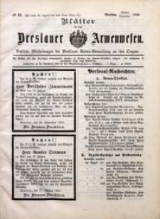 Blätter für das Breslauer Armwesen, [Jg. 2], 1899, No. 51