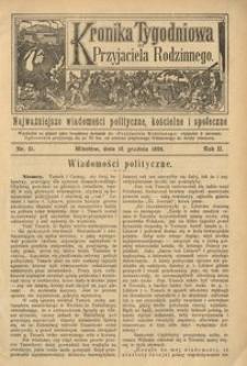 Kronika Tygodniowa do Przyjaciela Rodzinnego, 1896, R. 2, nr 51