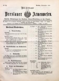 Blätter für das Breslauer Armwesen, [Jg. 2], 1901, No. 73