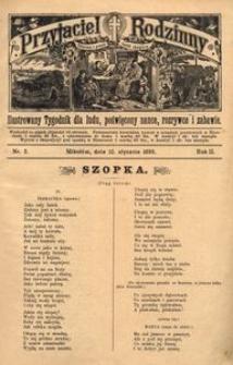 Przyjaciel Rodzinny, 1896, R. 2, nr 2