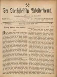 Der Oberschlesische Arbeiterfreund, 1900/1901, Jg. 1, No 8