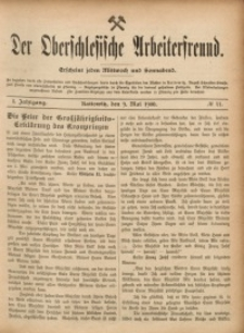 Der Oberschlesische Arbeiterfreund, 1900/1901, Jg. 1, No 11