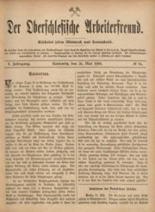 Der Oberschlesische Arbeiterfreund, 1900/1901, Jg. 1, No 16