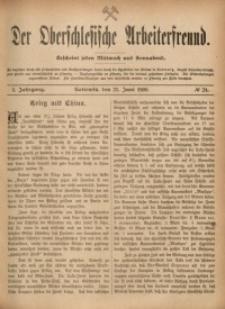 Der Oberschlesische Arbeiterfreund, 1900/1901, Jg. 1, No 24