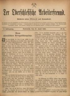 Der Oberschlesische Arbeiterfreund, 1900/1901, Jg. 1, No 25