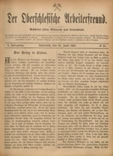 Der Oberschlesische Arbeiterfreund, 1900/1901, Jg. 1, No 26