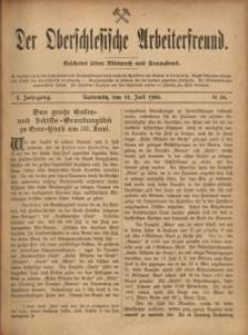 Der Oberschlesische Arbeiterfreund, 1900/1901, Jg. 1, No 30