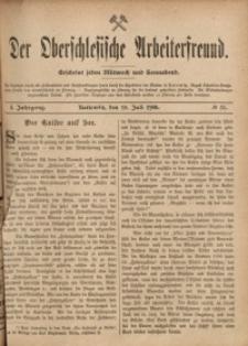 Der Oberschlesische Arbeiterfreund, 1900/1901, Jg. 1, No 31