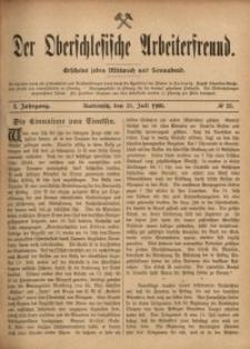Der Oberschlesische Arbeiterfreund, 1900/1901, Jg. 1, No 33