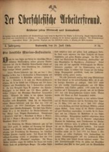 Der Oberschlesische Arbeiterfreund, 1900/1901, Jg. 1, No 34