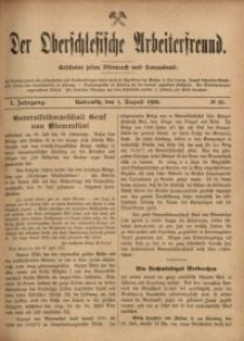 Der Oberschlesische Arbeiterfreund, 1900/1901, Jg. 1, No 35