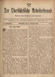 Der Oberschlesische Arbeiterfreund, 1900/1901, Jg. 1, No 39