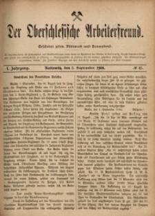 Der Oberschlesische Arbeiterfreund, 1900/1901, Jg. 1, No 45