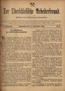 Der Oberschlesische Arbeiterfreund, 1900/1901, Jg. 1, No 48