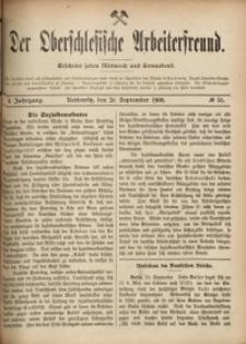 Der Oberschlesische Arbeiterfreund, 1900/1901, Jg. 1, No 51