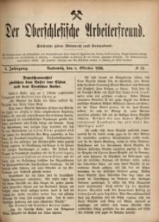 Der Oberschlesische Arbeiterfreund, 1900/1901, Jg. 1, No 54