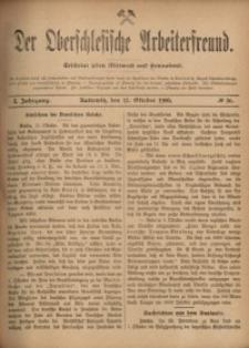 Der Oberschlesische Arbeiterfreund, 1900/1901, Jg. 1, No 56