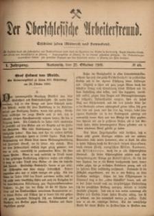 Der Oberschlesische Arbeiterfreund, 1900/1901, Jg. 1, No 60