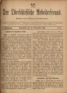 Der Oberschlesische Arbeiterfreund, 1900/1901, Jg. 1, No 65