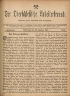 Der Oberschlesische Arbeiterfreund, 1900/1901, Jg. 1, No 84