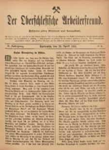 Der Oberschlesische Arbeiterfreund, 1901/1902, Jg. 2, No 6