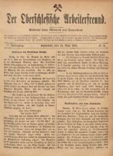 Der Oberschlesische Arbeiterfreund, 1901/1902, Jg. 2, No 13