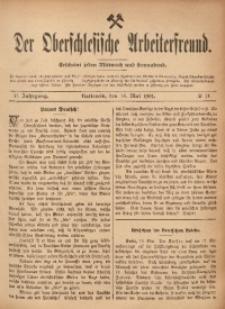 Der Oberschlesische Arbeiterfreund, 1901/1902, Jg. 2, No 14