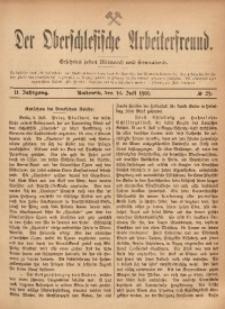 Der Oberschlesische Arbeiterfreund, 1901/1902, Jg. 2, No 29