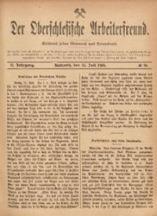 Der Oberschlesische Arbeiterfreund, 1901/1902, Jg. 2, No 30