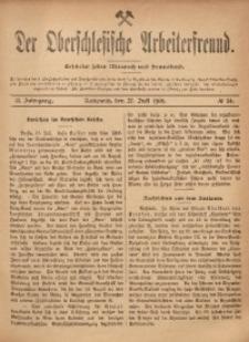 Der Oberschlesische Arbeiterfreund, 1901/1902, Jg. 2, No 34