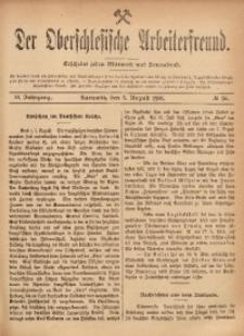 Der Oberschlesische Arbeiterfreund, 1901/1902, Jg. 2, No 36