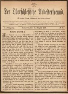 Der Oberschlesische Arbeiterfreund, 1901/1902, Jg. 2, No 38