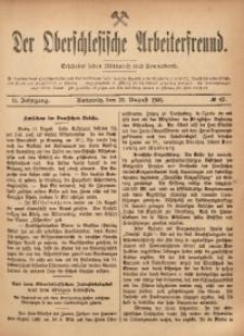 Der Oberschlesische Arbeiterfreund, 1901/1902, Jg. 2, No 42