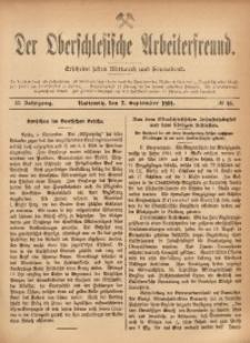 Der Oberschlesische Arbeiterfreund, 1901/1902, Jg. 2, No 46